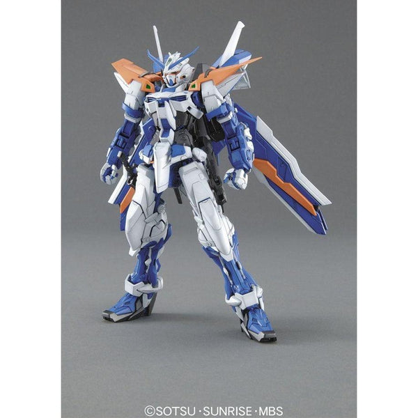 Bandai 1/100 MG MBF-P03 Gundam Astray Blue Frame 2nd Revise front on