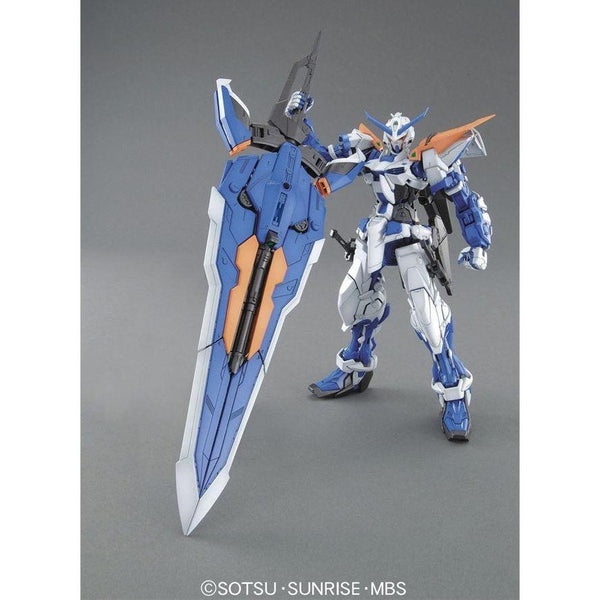 Bandai 1/100 MG MBF-P03 Gundam Astray Blue Frame 2nd Revise tactical arms weapon