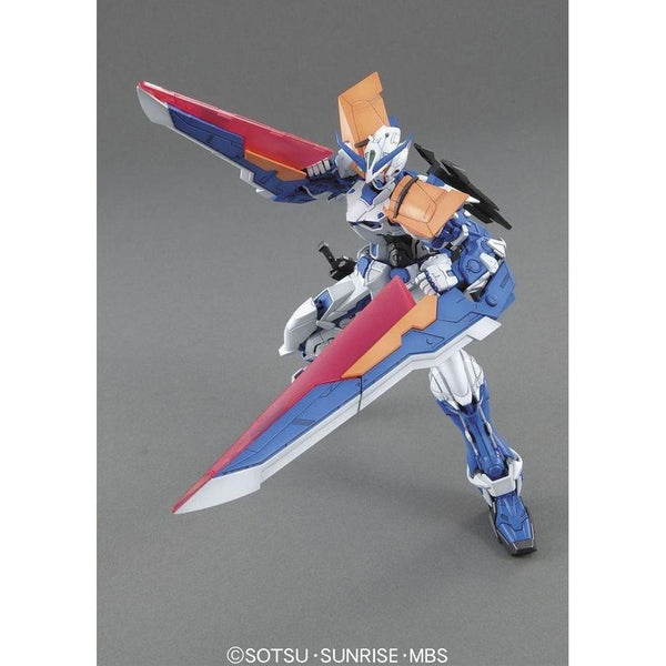 Bandai 1/100 MG MBF-P03 Gundam Astray Blue Frame 2nd Revise split tactical arms