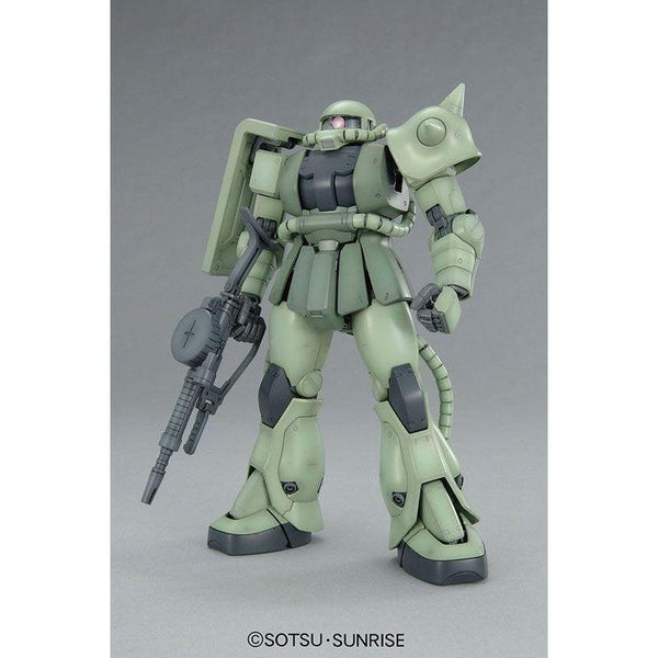 Bandai 1/100 MG MS-06F Zaku II Ver 2.0 front on