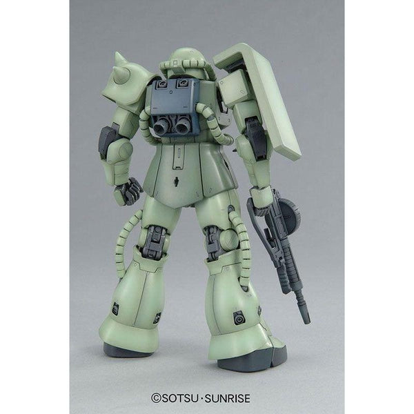 Bandai 1/100 MG MS-06F Zaku II Ver 2.0 rear view