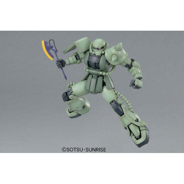 Bandai 1/100 MG MS-06F Zaku II Ver 2.0 with heat hawk