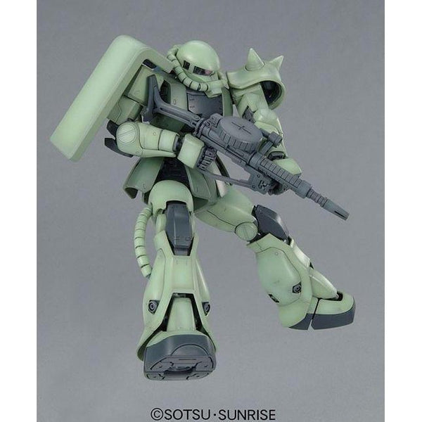 Bandai 1/100 MG MS-06F Zaku II Ver 2.0 with rifle