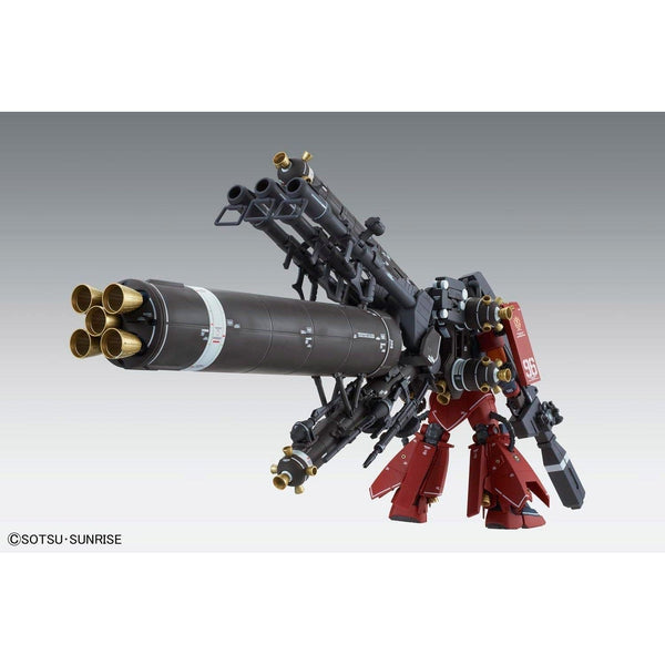 "Bandai 1/100 MG MS-06R Zaku II High Mobility Type ""Psycho Zaku Gundam Thunderbolt Ver Ka rear view 1"