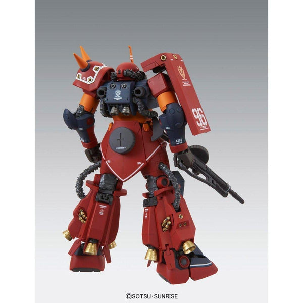 "Bandai 1/100 MG MS-06R Zaku II High Mobility Type ""Psycho Zaku Gundam Thunderbolt Ver Ka no weapons rear view"