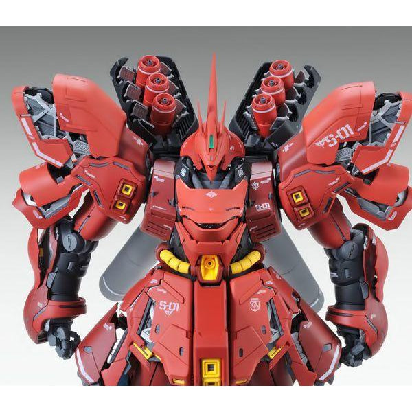 Bandai 1/100 MG Neo Zeon MSN-04 Sazabi Ver.Ka close up front on