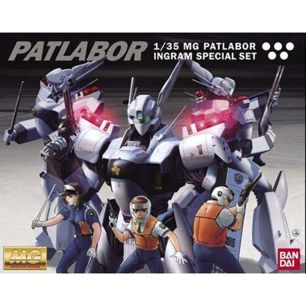 Bandai 1/35 MG Ingram Special Set package art