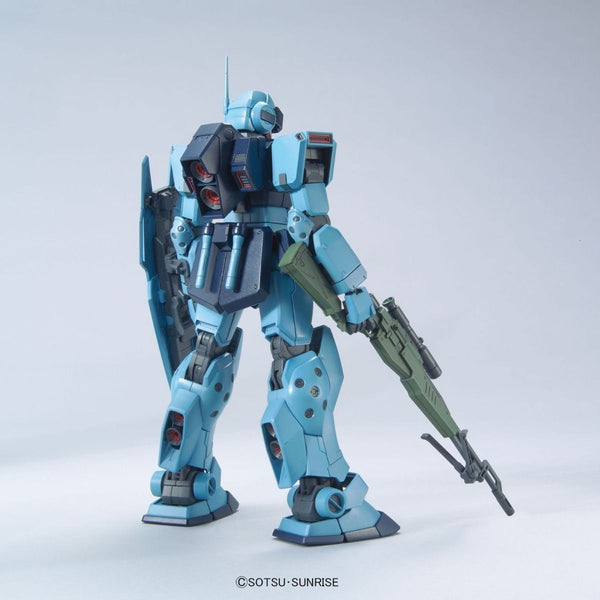 Bandai 1/100 MG RGM-79SP GM Sniper II rear view.