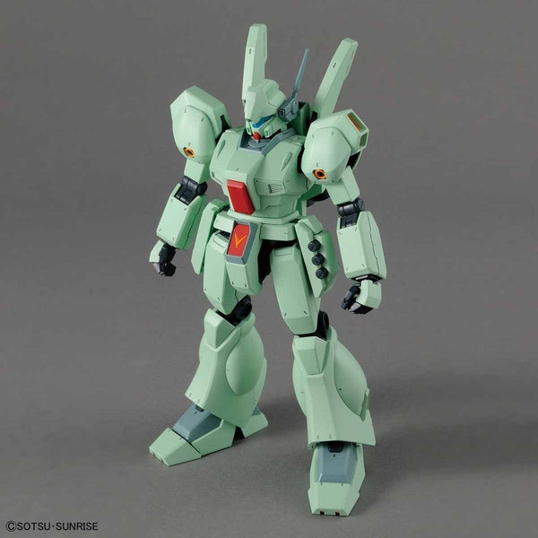Bandai 1/100 MG RGM-89 Jegan  front on view no weapons