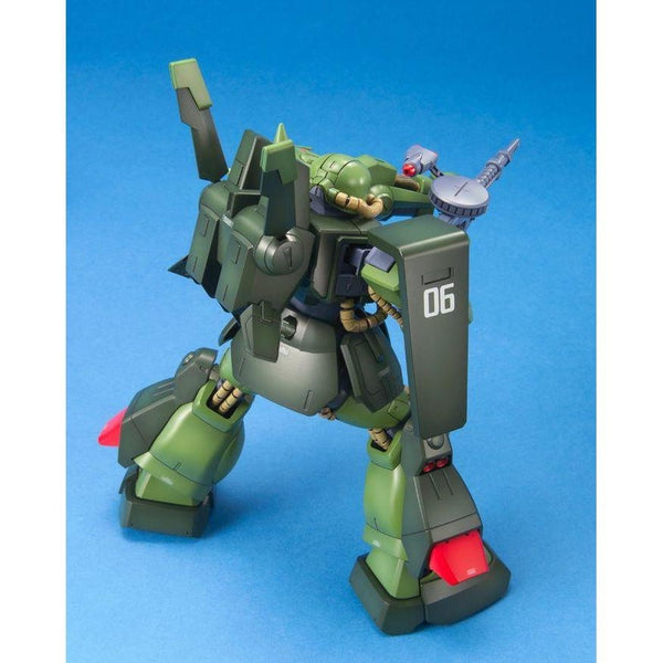 Bandai 1/100 MG RMS-106 Hi-Zack action pose rear view. 2