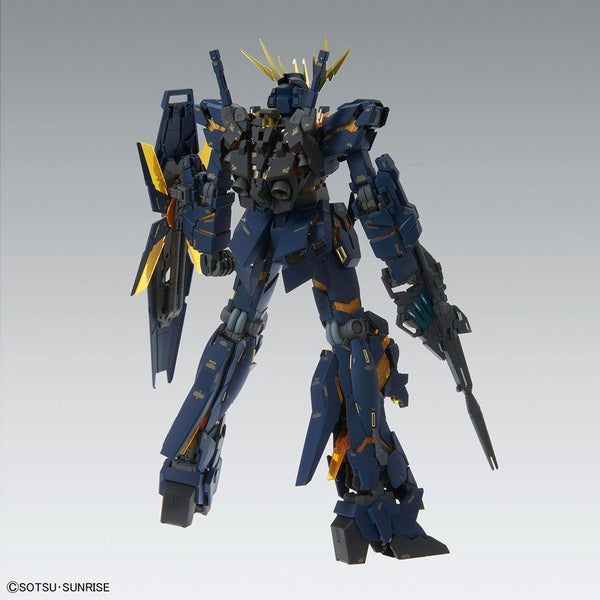 Bandai 1/100 MG Unicorn Gundam 02 Banshee Ver.Ka rear view