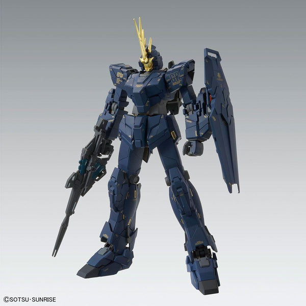 Bandai 1/100 MG Unicorn Gundam 02 Banshee Ver.Ka alternative head crest