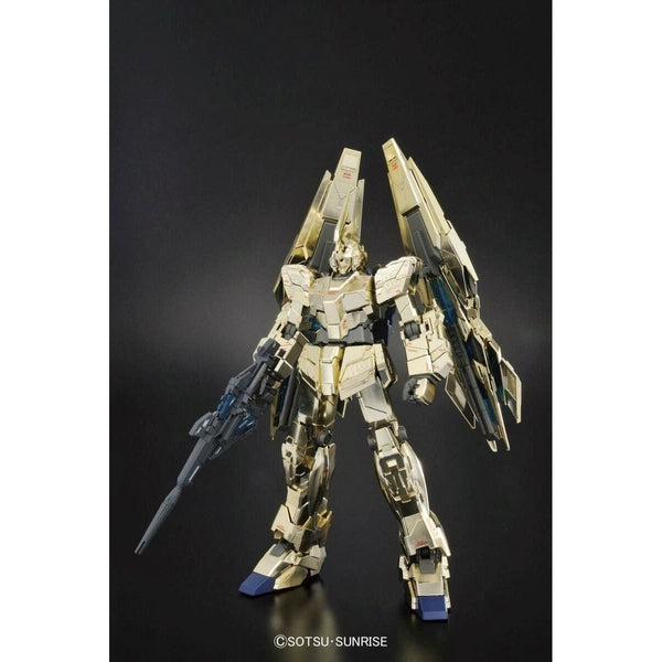 Bandai 1/100 MG RX-0 Unicorn Gundam 03 Phenex armour closed