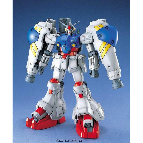 Bandai 1/100 MG RX-78 GP02A Gundam Physalis front on pose
