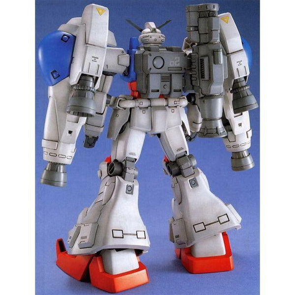 Bandai 1/100 MG RX-78 GP02A Gundam Physalis rear view