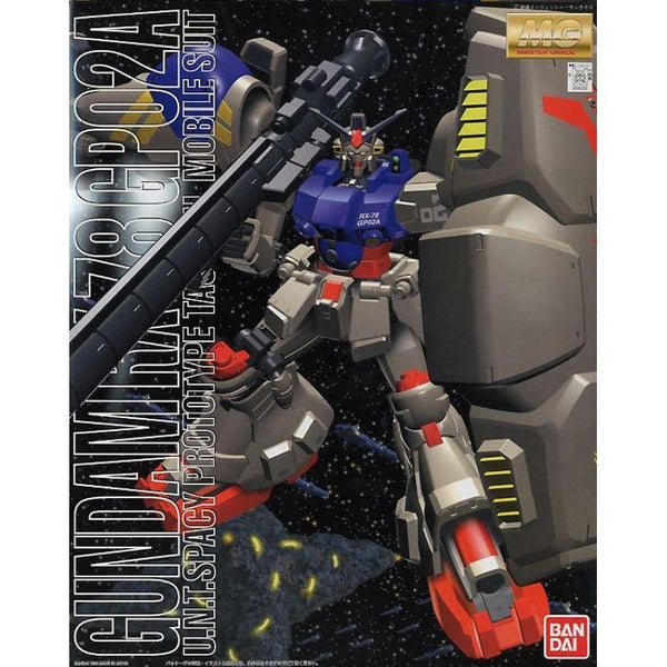 Bandai 1/100 MG RX-78 GP02A Gundam Physalis package art