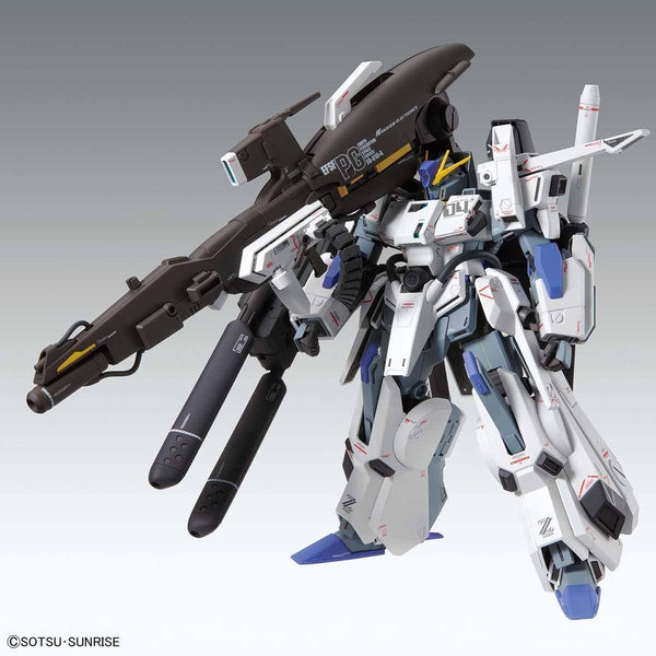 Bandai 1/100 MG FA-010A Fazz Ver.Ka front on view.