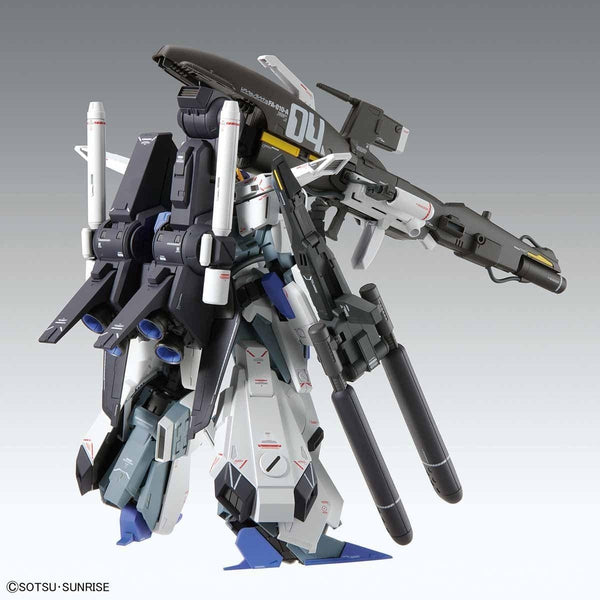 Bandai 1/100 MG FA-010A Fazz Ver.Ka rear view.