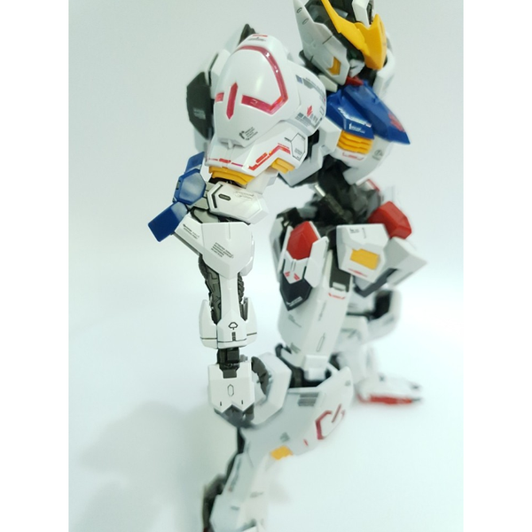 Delpi 1/100 MG Barbatos Water Slide Decal arm close up