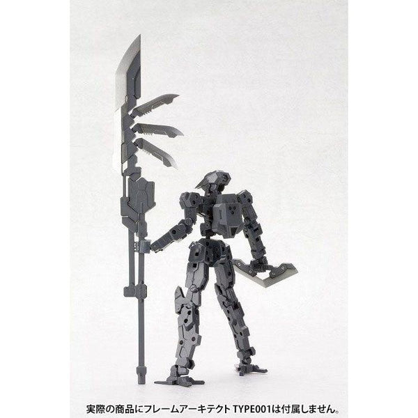 Kotobukiya M.S.G MH03R Heavy Weapon Unit Unite Sword action pose with frame arms