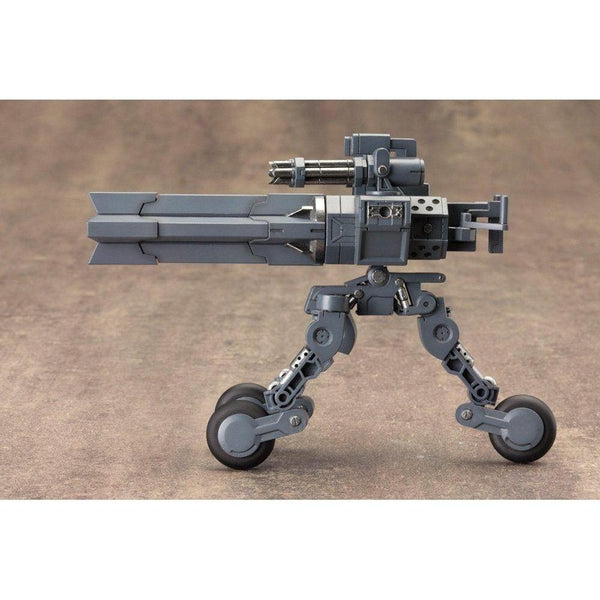 Kotobukiya M.S.G MH08 Heavy Weapon Unit Sentry Gun side on wheels raised