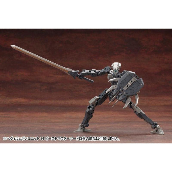 Kotobukiya M.S.G MH14 Heavy Weapon Unit Beast Master Sword action pose