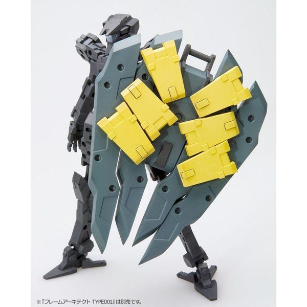 Kotobukiya M.S.G MH019R Weapon Unit Freestyle Shield in action 2
