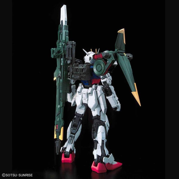 PRE-ORDER Bandai 1/60 PG Perfect Strike Gundam rear view.