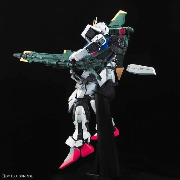 PRE-ORDER Bandai 1/60 PG Perfect Strike Gundam side on view