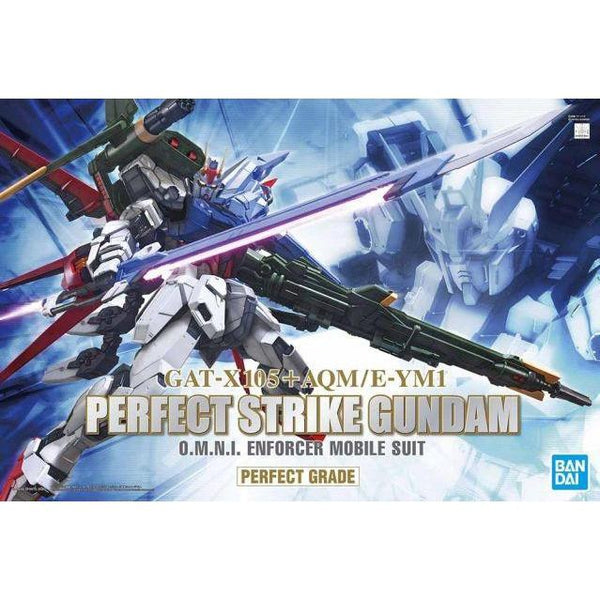 PRE-ORDER Bandai 1/60 PG Perfect Strike Gundam package artwork
