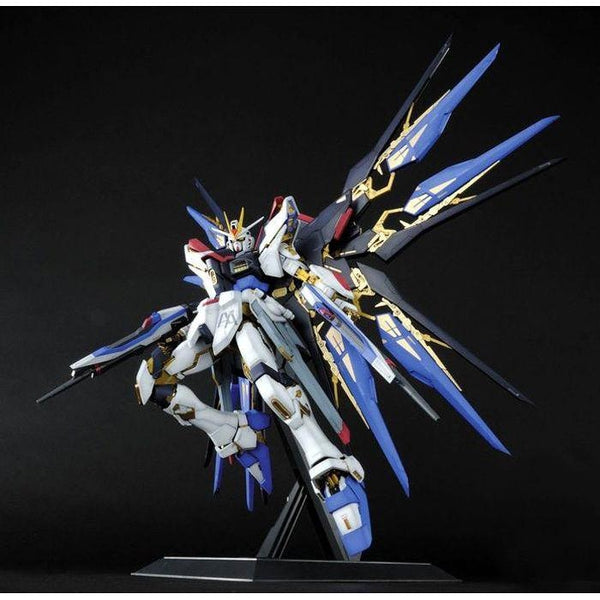 Bandai 1/60 PG Strike Freedom Gundam action pose