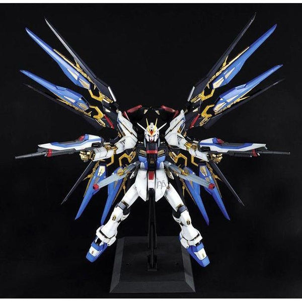 Bandai 1/60 PG Strike Freedom Gundam crucifix pose