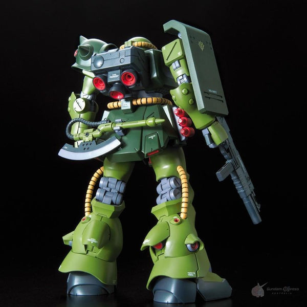 Bandai 1/100 RE MS-06FZ Zaku II Kai rear view