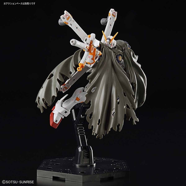 Bandai RG 1/144 XM-X1 Crossbone Gundam X1 cloak action pose
