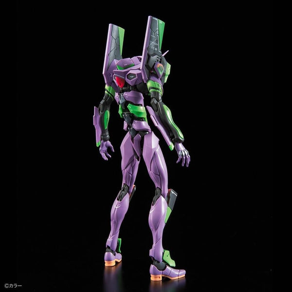 Bandai RG Evangelion Unit-01 Test Type rear view.