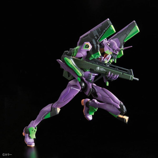 Bandai RG Evangelion Unit-01 Test Type action pose 2