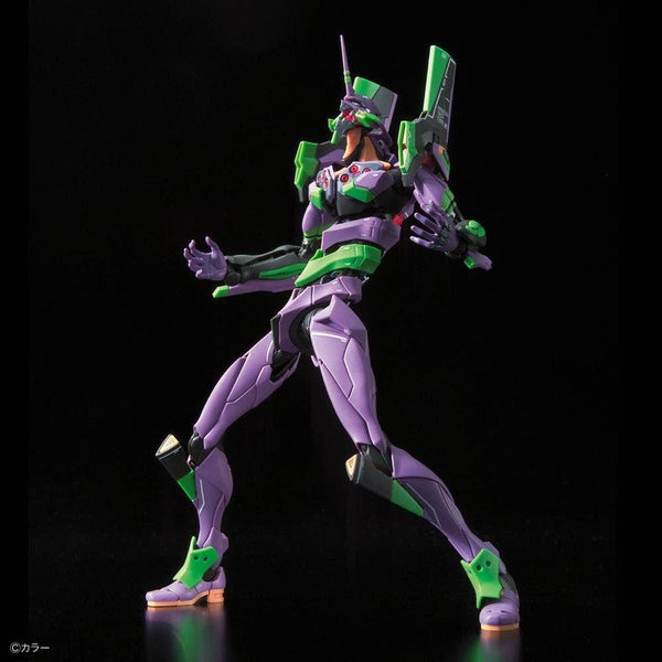 Bandai RG Evangelion Unit-01 Test Type action pose 3