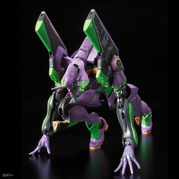 Bandai RG Evangelion Unit-01 Test Type action pose 4