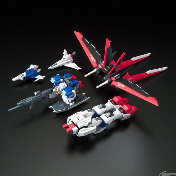 Bandai 1/144 RG Force Impulse Gundam whats included fully assembled