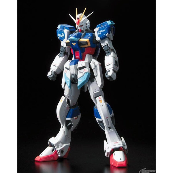 Bandai 1/144 RG Force Impulse Gundam front on view no weapons