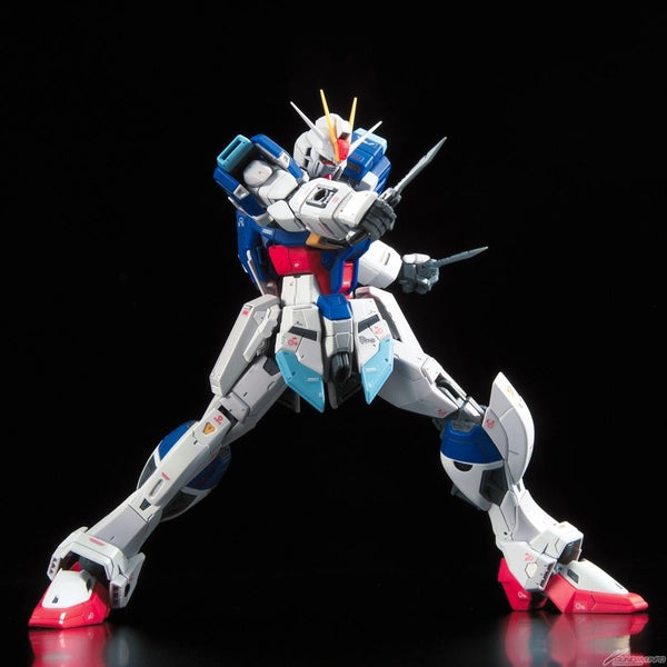 Bandai 1/144 RG Force Impulse Gundam legs wide open stance