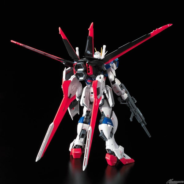 Bandai 1/144 RG Force Impulse Gundam with weapons