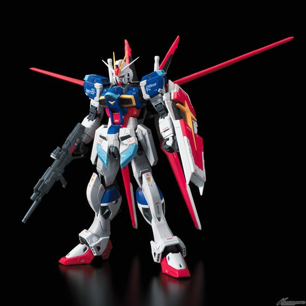 Bandai 1/144 RG Force Impulse Gundam front on view.