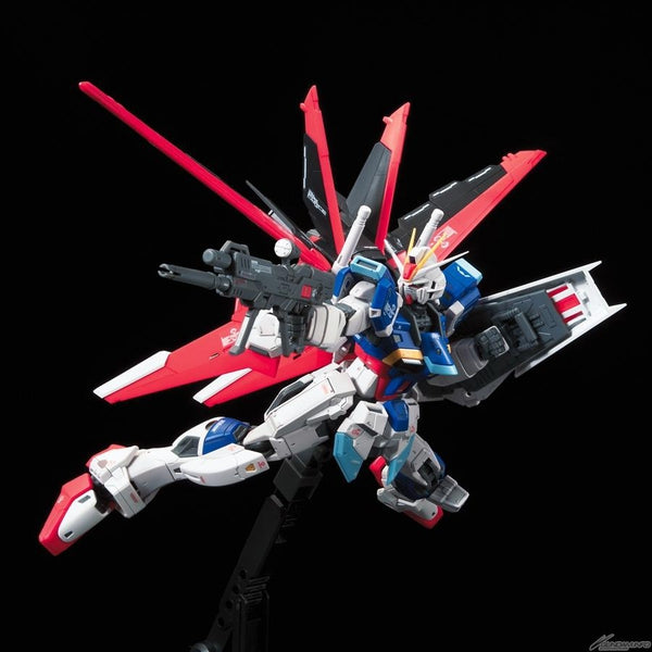 Bandai 1/144 RG Force Impulse Gundam action pose 1