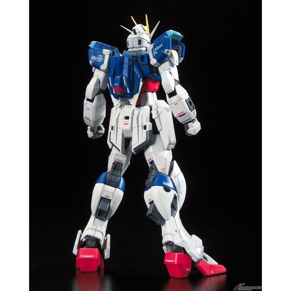 Bandai 1/144 RG Force Impulse Gundam rear view no weapons