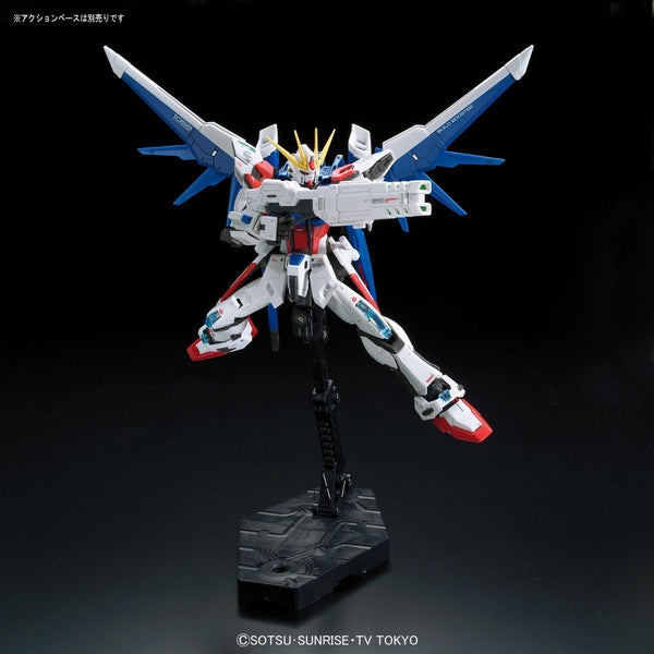 Bandai 1/144 RG Build Strike Gundam Full Package fight pose