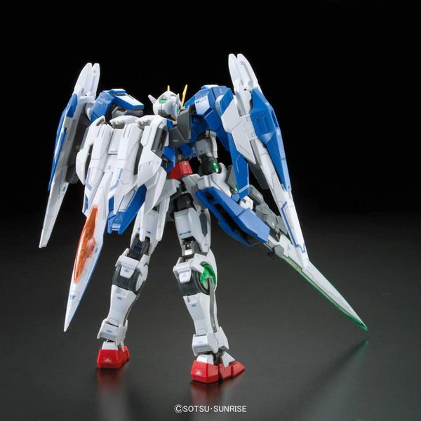 Bandai 1/144 RG 00 Raiser GN-0000+GNR-010 rear view