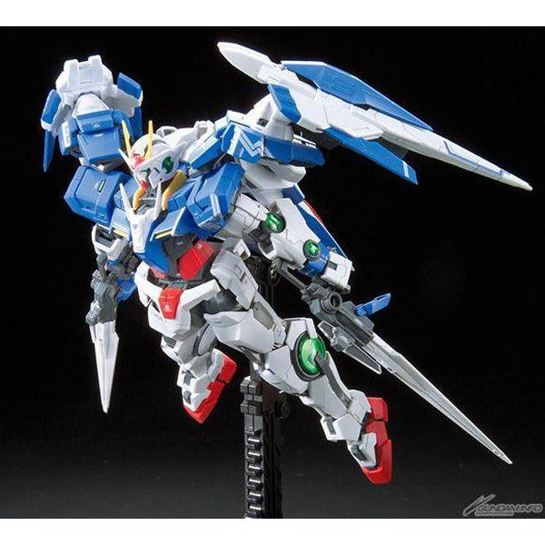 Bandai 1/144 RG 00 Raiser GN-0000+GNR-010 action pose