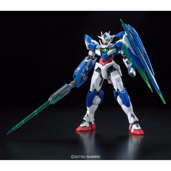 Bandai 1/144 RG 00 Qan[T] Celestial Being Mobile suit GNT-0000 front view