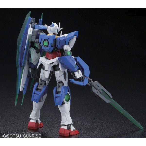 Bandai 1/144 RG 00 Qan[T] Celestial Being Mobile suit GNT-0000 rear view